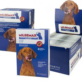 Milbemax Kauwtabletten Hond Groot Chewy 4 tabl. 5-75kg